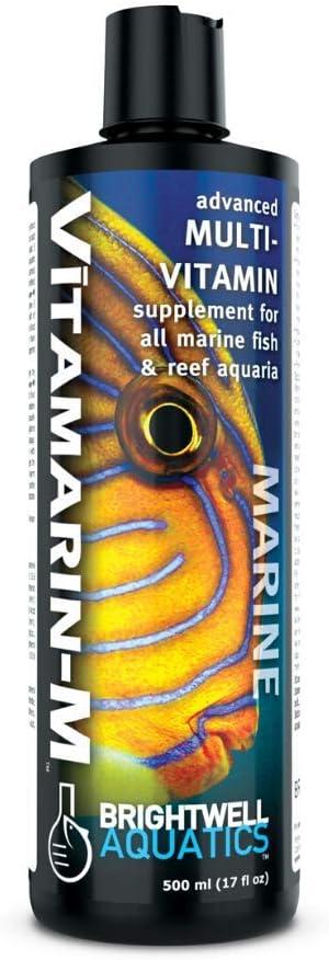 Brightwell Aquatics Vitamarin-M - Multivitamin Supplement for All Marine Aquaria