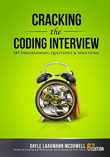 Pdf Technology Cracking the Coding Interview: 189 Programming Questions and Solutions
