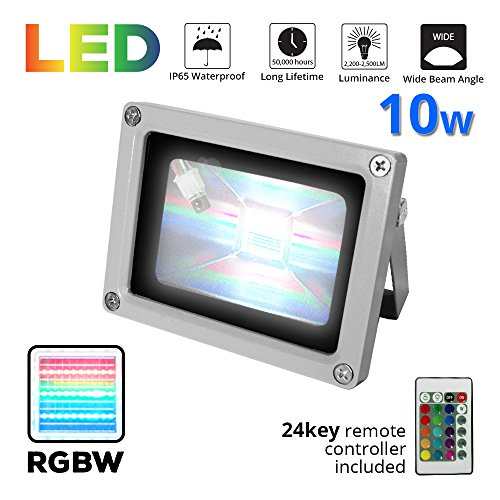 Led 10W Rgb Colour Changing Flood Light