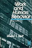 Work and Human Behavior, Neff, Walter S., 0202303209