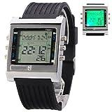 TV/DVD Remote Control Multifunction Mens Digital Watch