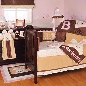 Amazon.com: B es para conejo cuna Set – 4 piezas: Baby