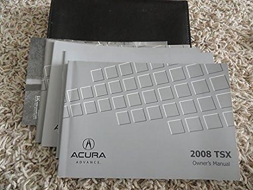 2008 acura tsx owners manual acura amazon com books rh amazon com 2010 Acura TSX Manual 2008 acura tsx owners manual
