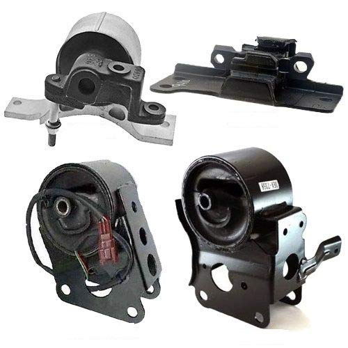 5 Speed Auto Transmission - K0031 Fits 2004-2009 Nissan Quest 3.5L Engine Motor & Transmission Mount for 5 speed Auto 4 PCS : A7349EL A7358, A7348, A7351