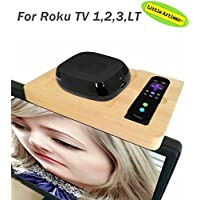 Little Artisan Wood TV Box Mounting Station system For ROKU 1 Roku 2 Roku 3 LT Streaming Media Player and Remote
