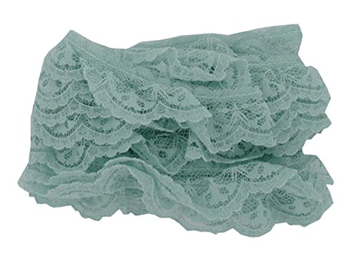 Ruffled Edging (Kole Imports RB152 Ruffled Lace Edging,Multicolored)