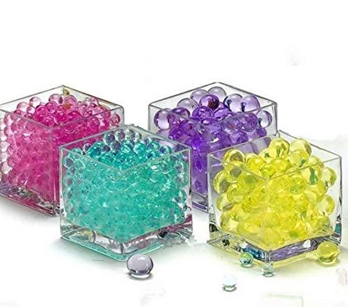Seatour 5000Pcs Crystal mud Ocean Baby Crystal Soil Water-Absorbing Beads no Soil Flower Crystal Sponge Baby (Green)