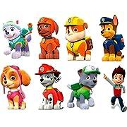 "PAW PATROL 3D WALL STICKER SET decor ART KIDS DECAL Stickers 6"" EACH stickers"
