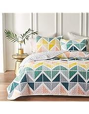 Uozzi Bedding 3 Piece Reversible Quilt Set