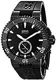 Oris Men's 73976747754RS Aquis Analog Display Swiss Automatic Black Watch