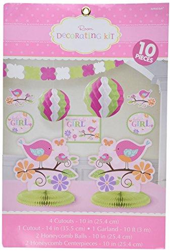 (Tweet Baby Room Decorating Kit Pink Girl Shower Bird Chick)