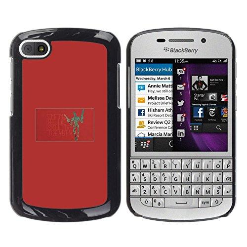 Smartphone Duro Carcasa PC para BlackBerry Q10/funda TECELL/Robot ...