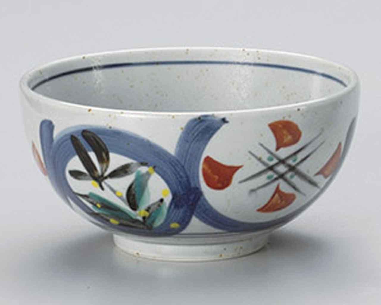 Mashiko Marumon 6.1inch Set of 5 Ramen-Bowls Grey porcelain Made in Japan