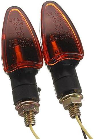 Queenwind 2 Xフロントバックオートバイバイクインジケーターターン電球