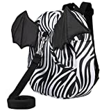 3D Toddler Baby Kid Walking Safety Harness Leash Backpack Travel Strap Anti Lost Bag (Little Devil Zebra) Review