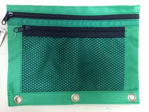 One CLI 2-Pocket PENCIL POUCH #76350 , for 3-ring binders