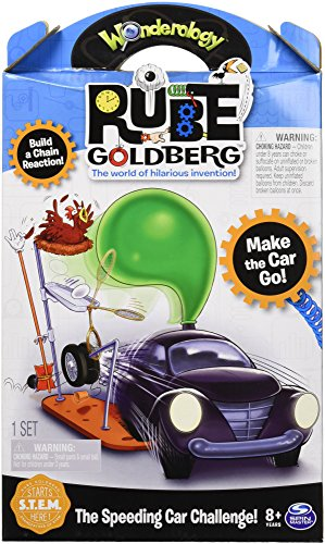 engineering toys for 10 year olds Rube Goldberg the Speeding Car Challenge Kids Physics