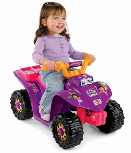Dora Ride On Toy - Power Wheels Dora Lil' Quad