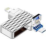 USB Flash Drive, 32GB Pen-Drive Memory Storage, Suntrsi Jump driveMemory Stick External Storage iPhone, Memory Expansion Android iPad,iPod,Mac,Android PC