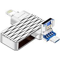 USB Flash Drive, 32GB Pen-Drive Memory Storage, Suntrsi...