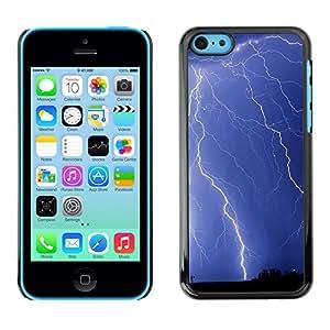 Paccase / SLIM PC / Aliminium Casa Carcasa Funda Case Cover - Nature Beautiful Forrest Green 129 - Apple Iphone 5C