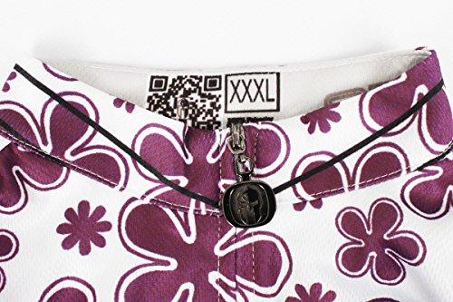 [ILPALADINO] #608 高品質サイクルウェア 女性用 短袖 3Dパッド付き短ズボン パンツ 上下セット cycling clothes サイクリングジャージ コンプレッションウェア MTB レーサー