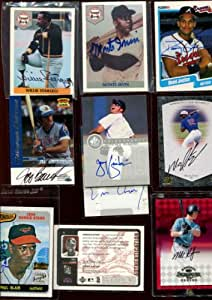Lot of (45) AUTOGRAPHS w/Hall-of-Famers Willie Stargell/Monte Irvin sets