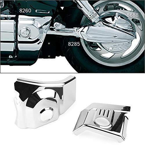 Star-Trade-Inc - Swing Arm Pivot Frame Trim Cover Fit For Honda VTX 1300 2003-2009 Motorcycle ABS Plastic ()
