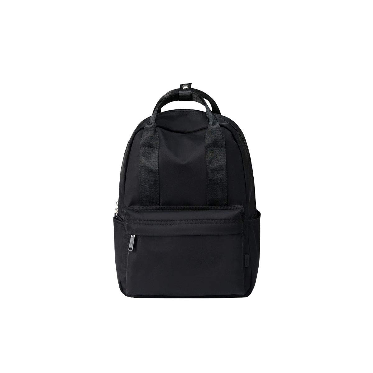 TONGBOSHI Backpack Female 2019 Simple Casual Backpack Male Large-Capacity School Bag College Students (Color : 1)