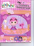 lalaloopsy coloring book - Lalaloopsy Coloring & Activity Book ~ Confetti's Masquerade