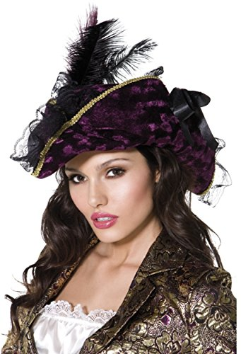 Marauding Purple Pirate Hat