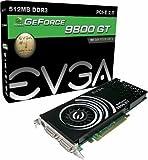 EVGA GeForce 9800 GT 512 MB DDR3 PCI-Express 2.0 Graphics Card 512-P3-N973-TR