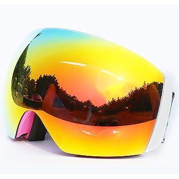 Gafas de Esquí, Gafas de Snowboard Sin Marco para Hombres Y ...