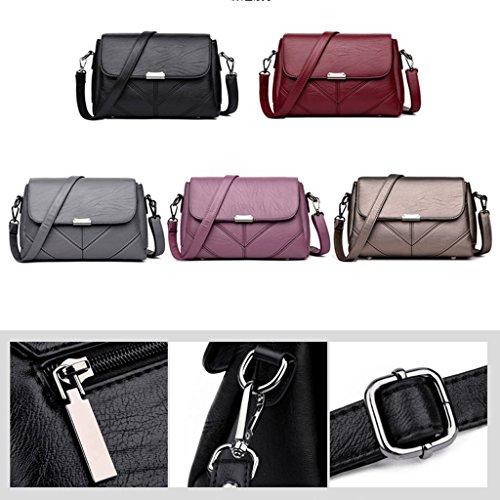 à d'ge sac à main Bark à sac Gray Sac bandoulière grande à féminin moyen Sac main bandoulière capacité sac xZqzS0vww