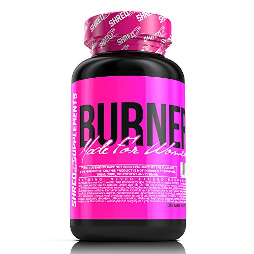 SHREDZ Burner for Women, 60 Capsules (1 Month) - Lose Weight, Increase Energy, Best Way to Shed Pounds!