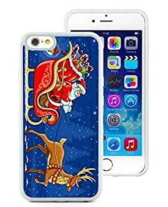 2014 Newest Case Cover For Ipod Touch 4 anta Claus White Hard Case 6