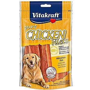 Vitakraft 1571260031 – snack tiras de pollo 100% naturales 80 gr