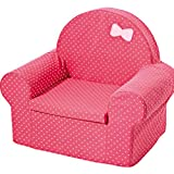 WAYERTY Children Sofa, Children's Armchair Toddler Furniture Baby Small Sofa Infant Cute Lazy Cotton Couch Kid Chair Removable and Washable-red 54x34x55cm(21x13x22inch)