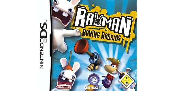 Rayman Raving Rabbids [Importación alemana] [Nintendo DS]: Amazon.es: Videojuegos