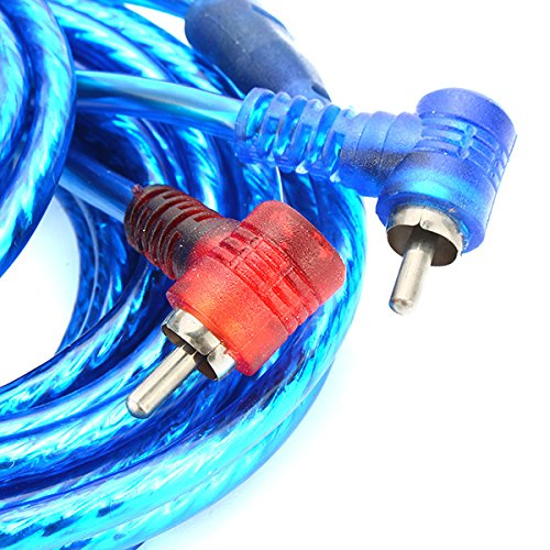 2.5 Square Wire Modified Car Stereo Audio Cable Power Cable Accessories