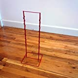 1 New Red Double Round Strip Potato Chip, Candy Clip Counter Display Rack