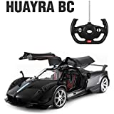1/14 Scale Pagani Huayra BC Radio Remote Control Model Car R/C RTR Open Doors (Black)