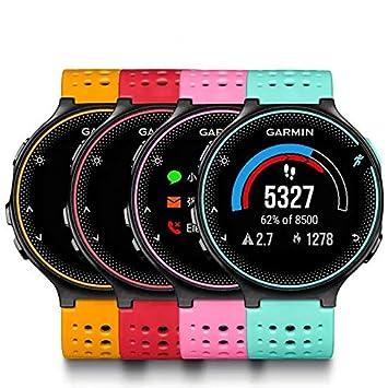 ShopSquare64 Garmin Forerunner235 Smart GPS + GLONASS Reloj Deportivo de muñeca con Sensor de frecuencia cardíaca fotoeléctrica: Amazon.es: Deportes y aire ...