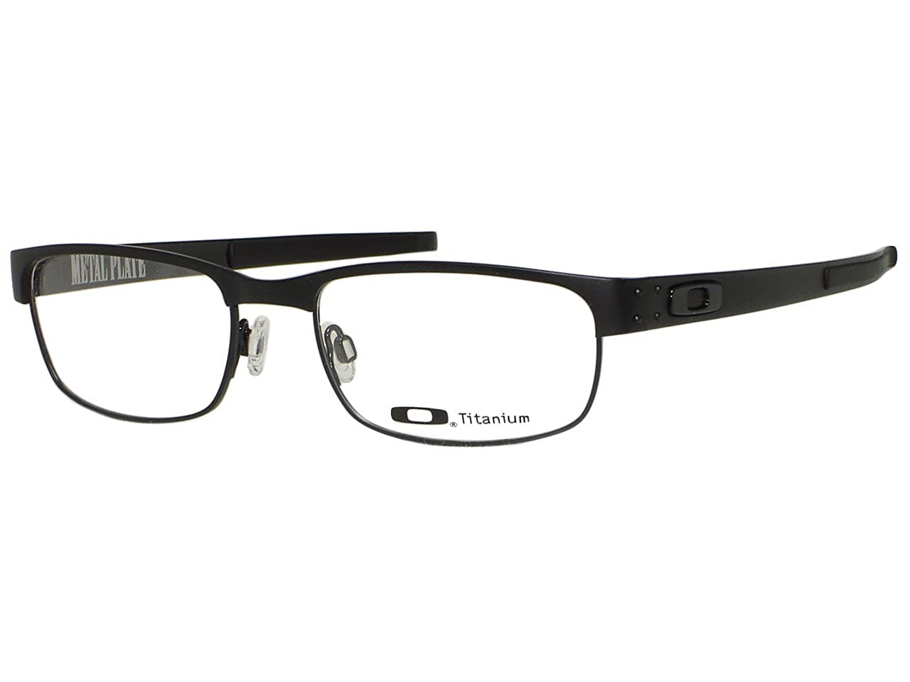 b84fc60c40 Amazon.com  Oakley Metal Plate 22-198 Eyeglasses  Matte Black Color    Clothing
