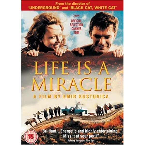 Amazon Com Life Is A Miracle Non Us Format Pal Region 2 Import Slavko Stimac Natasa Solak Vesna Trivalic Vuk Kostic Emir Kusturica Movies Tv Life Is a Miracle