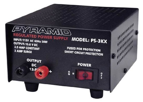 Amazon.com: PYRAMID PS3KX 3Amp 13.8V Power Supply: Computers ...