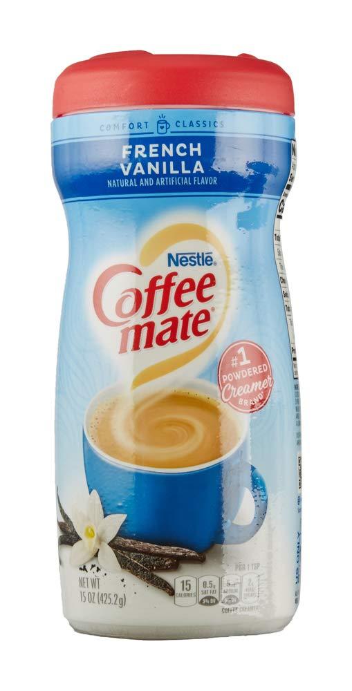 Coffee Mate French Vanilla Powder Coffee Creamer, 15 oz