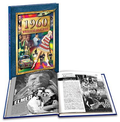1960 What a Year It Was! Hardcover Book