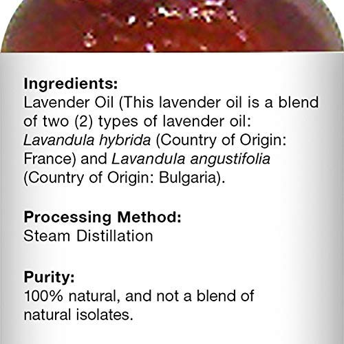Majestic Pure Lavender Oil, Natural, Therapeutic Grade, Premium Quality Blend of Lavender Essential Oil, Set of 2 4 fl. Oz by Majestic Pure (Image #5)