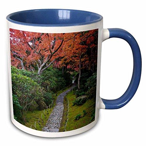 Rob Okochi Sanso Kyoto Japan - 3dRose Danita Delimont - Gardens - Japan, Kyoto, Arashiyama, Okochi Sanso Villa Garden - AS15 RTI0773 - Rob Tilley - 15oz Two-Tone Blue Mug (mug_132752_11)